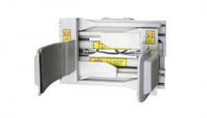 Priključek za pritrditev vilice Forklfit Steel White 55 Gallon