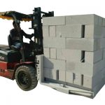 Betonske opeke za hidravlični viličar / blok za dvigovanje blokov