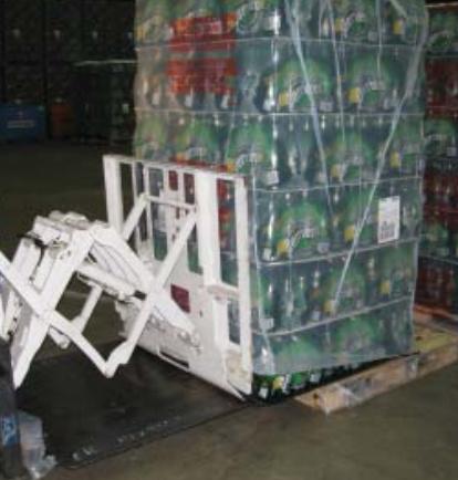 Uporaba vilic vlečne naprave v industriji pijač
